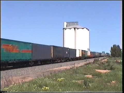 Genesee and Wyoming 7AP4 freight Nantawarra