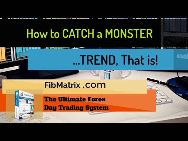 How to Catch a Monster Trend Trade with FibMatrix Automated Forex Trading Software +50 Pips!