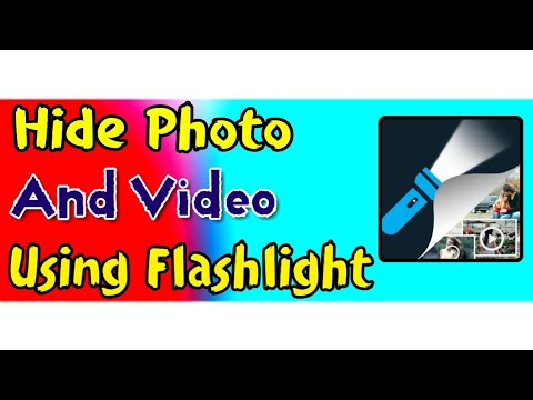 Torch gallery vault | hide private photo,videos file & folders in  flashlight torch | #trickyaditya |