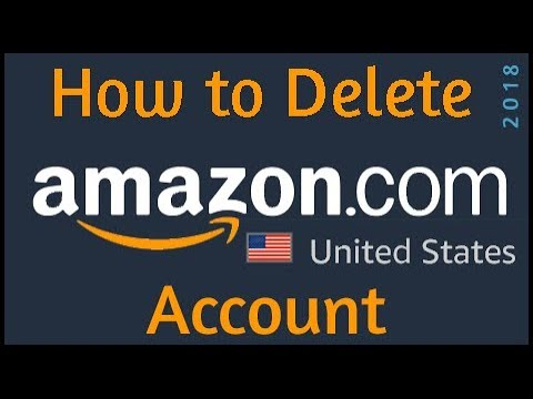 how to delete amazon account permanently youtube. Black Bedroom Furniture Sets. Home Design Ideas