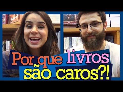 AFINAL, POR QUE LIVROS SÃO CAROS?!