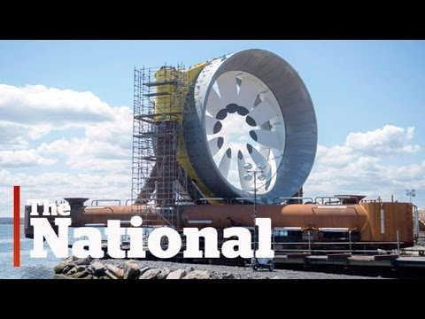 Nova Scotia's tidal energy