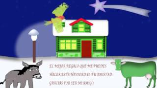 postal de navidad animada gratis para enviar 3