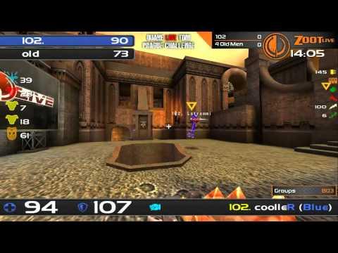 Quake Live TDM Prague Challenge - Group A - 102 vs 4 Old Men