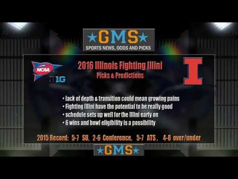 GMS 2016 Illinois Fighting Illini Football Team Preview