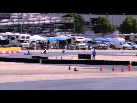Kart Racing LAKC Main Of The Month TAG Cadet April 2015