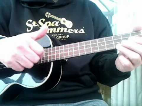 how to play george formby ukulele