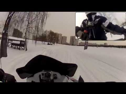 Polaris 600 RUSH PRO-R by GoPro HD HERO2 with Chest Mount Harness