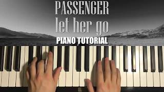 HOW TO PLAY - Passenger - Let Her Go (Piano Tutorial Lesson) Mp3