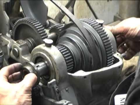 Atlas Ten Inch Lathe Headstock Gear Amp Pulley Replacement