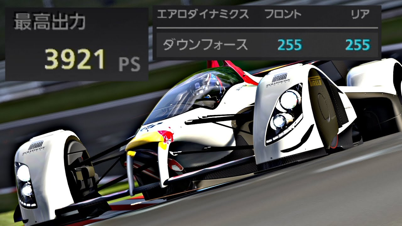 ダウンフォース『255』+4000馬力のX2010でニュル北アタック!【GT5】【ハックカー】