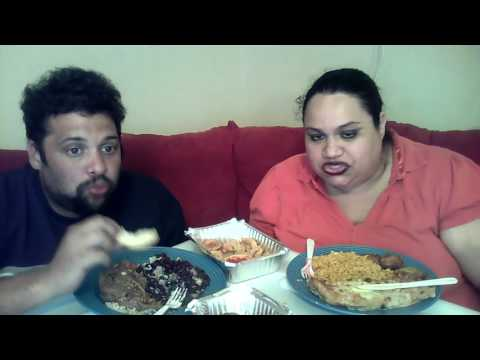 MUKBANG/EATING SHOW: Cuban Food With Hubby