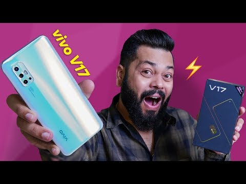 vivo V17 Unboxing & First Impressions ⚡⚡⚡ World's Smallest In-Display Camera!
