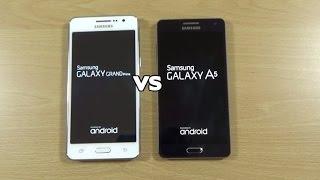 Samsung Galaxy Grand Prime VS Galaxy A5 - Speed Test!