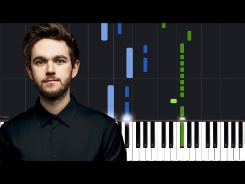 """ZeddElley Duhé - """"Happy Now"""" Piano Tutorial - Chords - How To Play - Cover"""