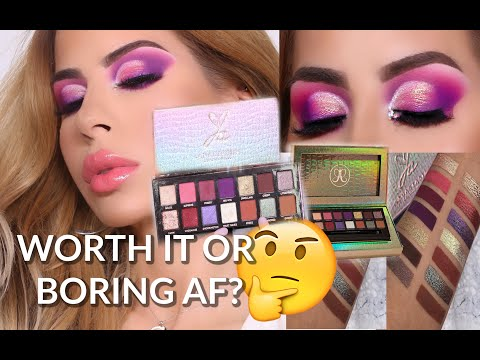 NEW JACKIE AINA PALETTE X ANASTASIA BEVERLY HILLS REVIEW, TUTORIAL, SWATCHES thumbnail