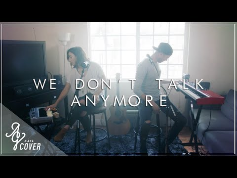We Don't Talk Anymore | Charlie Puth ft Selena Gomez (Alex G & TJ Brown Loop Pedal Cover)
