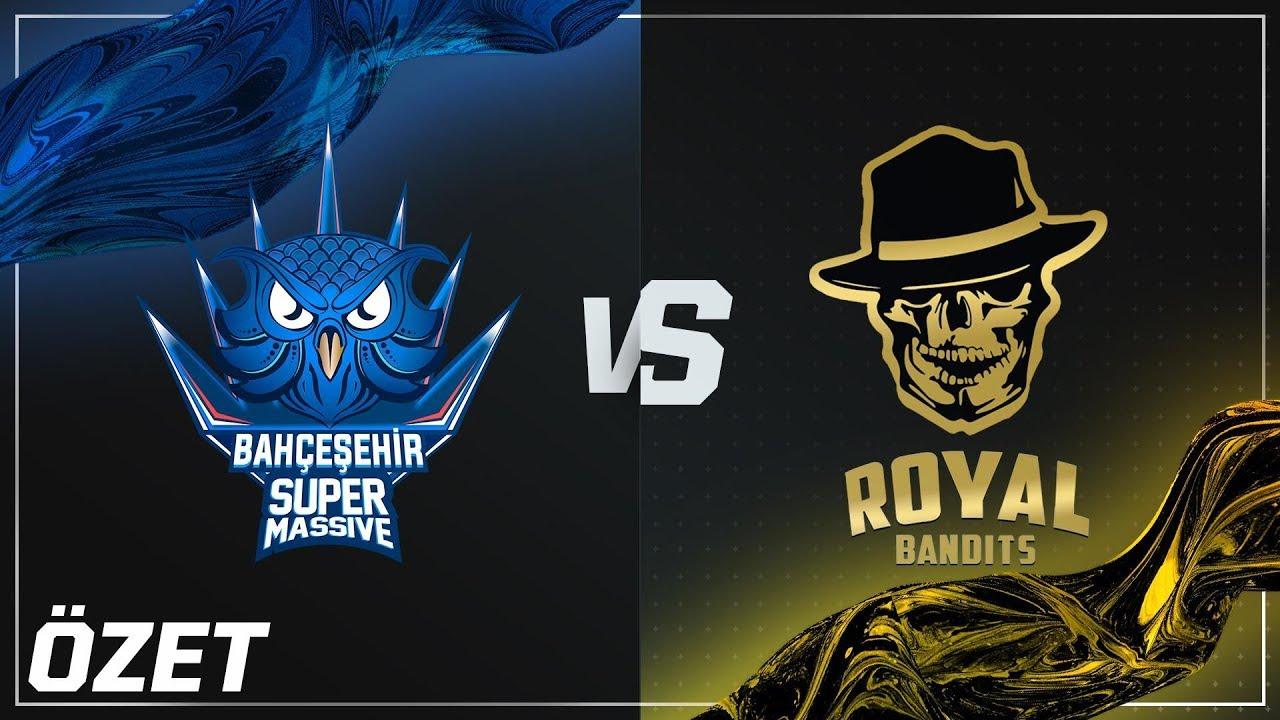 SuperMassive ( SUP ) vs Royal Bandits ( RB ) 1. Maç Özeti Videosu