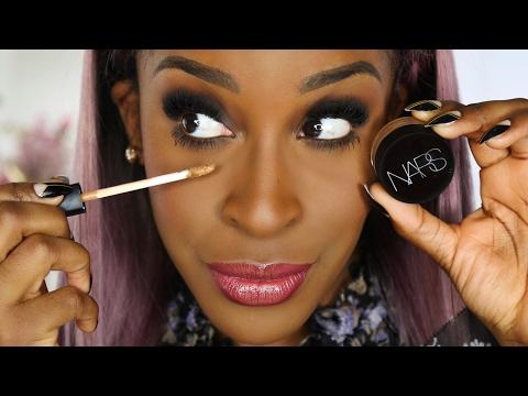 NARS Soft Matte Complete Concealer Vs Radiant Creamy Concealer! | Jackie Aina