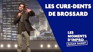 Humour: Sugar Sammy et les cure-dents de Brossard