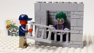 Lego Spiderman Building Prison for Joker Funny Animation