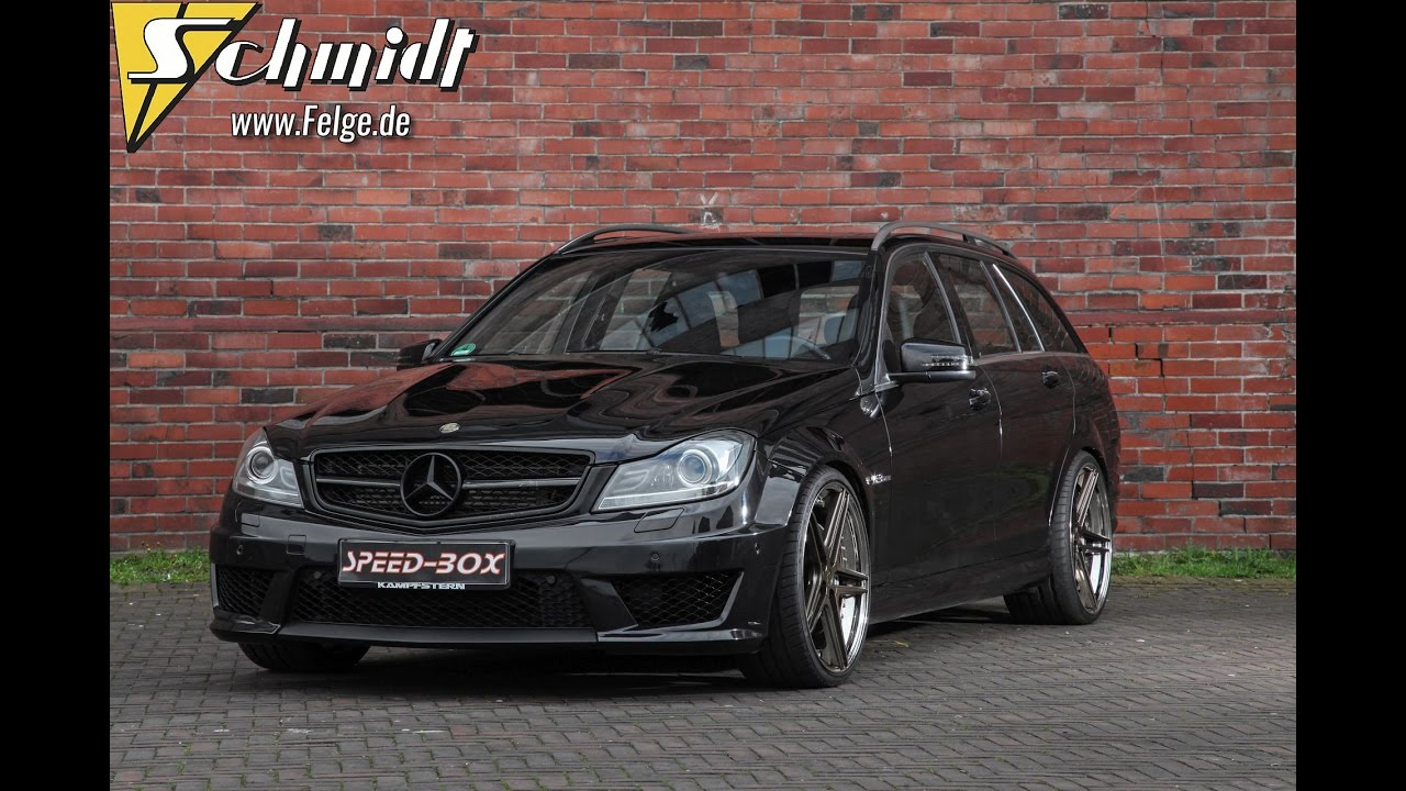 mercedes c63 amg felgen by raceland fs line youtube. Black Bedroom Furniture Sets. Home Design Ideas
