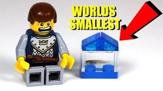 The Worlds Smallest Aquarium made with LEGO