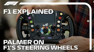 F1 Explained: The Steering Wheel