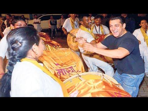 Salman Khan Ganpati Visarjan 2015 | FULL...