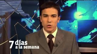 """TVE 2012: Autopromoción Canal 24 Horas """"15 años de noticias"""""""