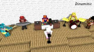 FNAF Monster School in Theater - Minecraft Animation (Five Nights At Freddy's)