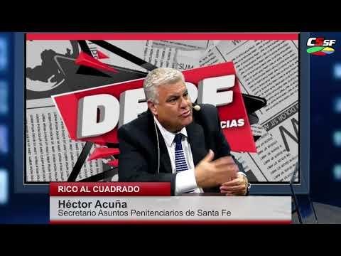 Héctor Acuña: Hay superpoblación en las cárceles
