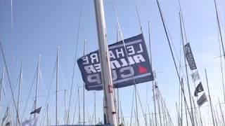 Départ de la Le Havre Allmer Cup pour la Team Bretagne CMB