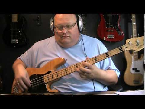 Kiss 100,000 Years Bass Cover with Notes & Tablature mp3