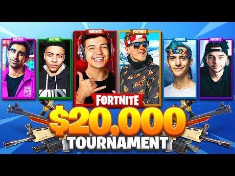 $20,000 FRIDAY FORTNITE YOUTUBER TOURNAMENT! - TBNRfrags & TBNRkenny