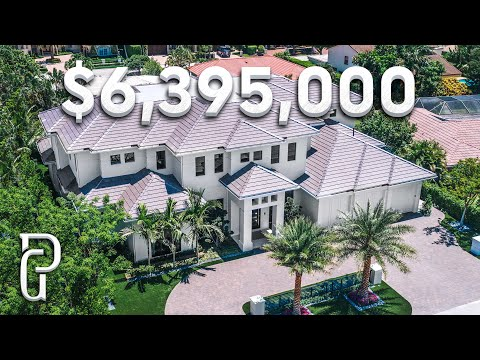 Inside a $6,395,000 Modern Estate in Southern Florida! | Propertygrams House Tour