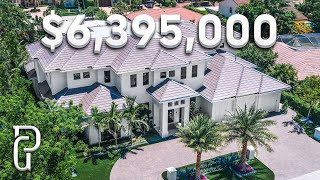 Inside A $6,395,000 Modern Mansion In Southern Florida! | Propertygrams House Tour