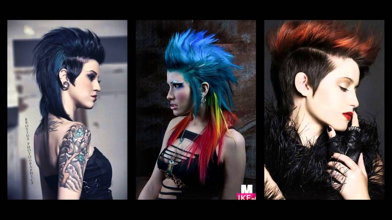 25 Exceptional Punk Hairstyles For Women Youtube