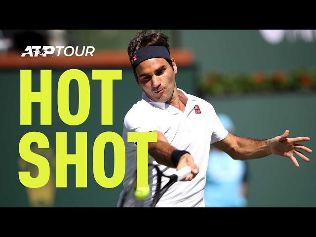 Hot Shot: Federer's Magical Break Point Save Against Hurkacz In Indian Wells 2019