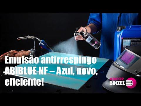 Emulsão antirrespingo ABIBLUE – Azul, novo, eficiente!