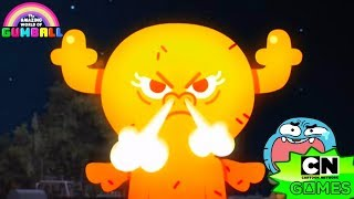 AMAZING WORLD OF GUMBALL: SNOW STOPPERS - PENNY IS ANGRY (CHRISTMAS IN ELMORE) - CARTOON NETWORK