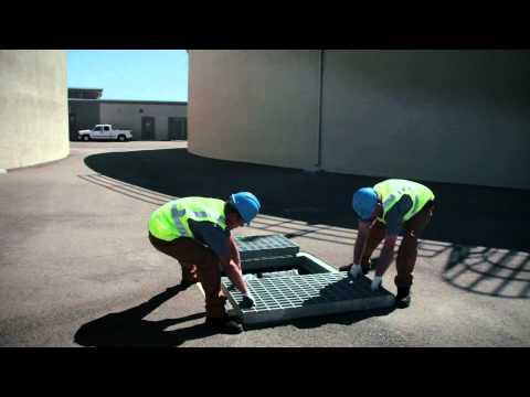 The Water Decontaminator Drain Insert