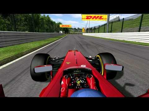 rF1 2012 Mod for rFactor, Suzuka, Ferrari