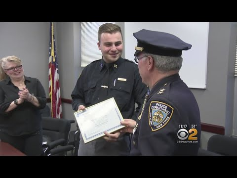NYPD Honors Staten Island Teen
