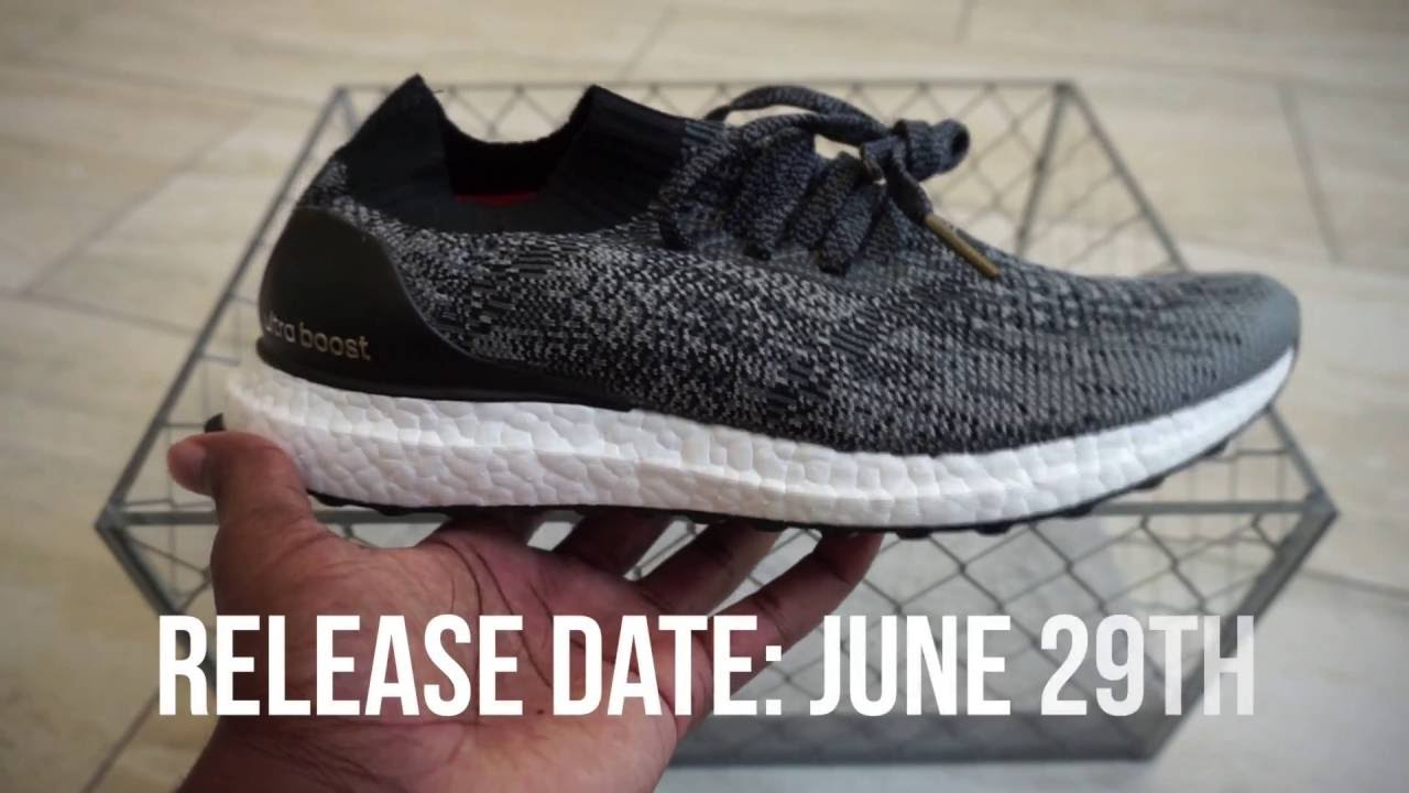 f5aebf7de adidas Ultra Boost Uncaged Unboxing - YouTube