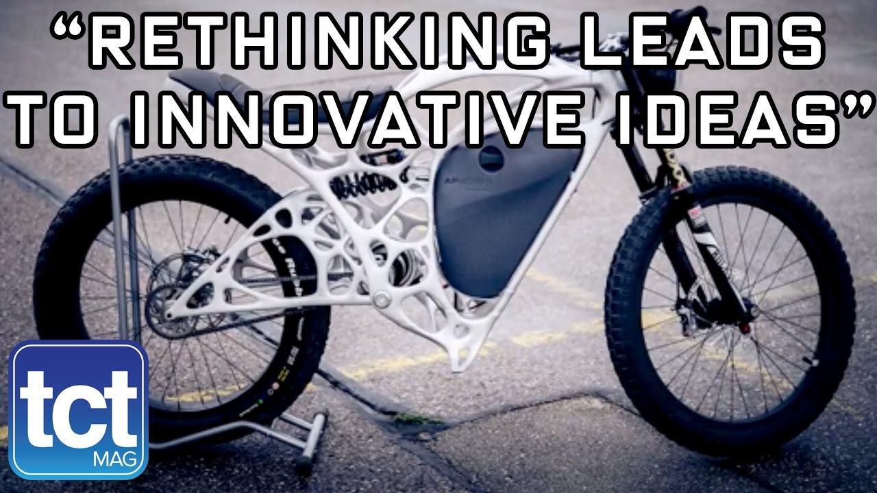 Creating the Light Rider - world's first 3D printed motorbike | AP Works | TCT Show