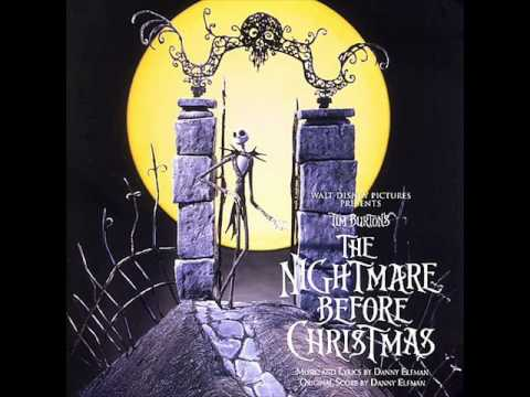 The Nightmare Before Christmas Soundtrack #08 Jack And Sally Montage