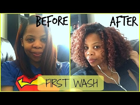 First Wash After Silk Out | Will My Natural Hair Revert After Heat?! | Finding Kim