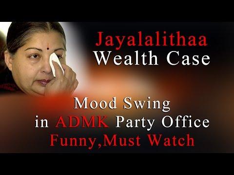 Jayalalithaa Wealth Case Judgement- Mood Swing In ADMK Party Office -Funny- Must Watch   www.bbc.co.uk/tamil indiaglitz. tamil.oneindia.in  behindwoods.com puthiyathalaimurai.tv VIJAY TV STARVIJAY Vijay Tv  -~-~~-~~~-~~-~- Please watch: