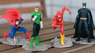 Обзор фигурок Justice League (Schleich)